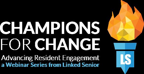 Champions for Change - Linked Senior webinars
